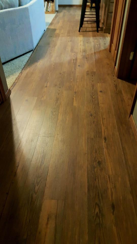 New wood flooring project, Floor Coverings International Bozeman
