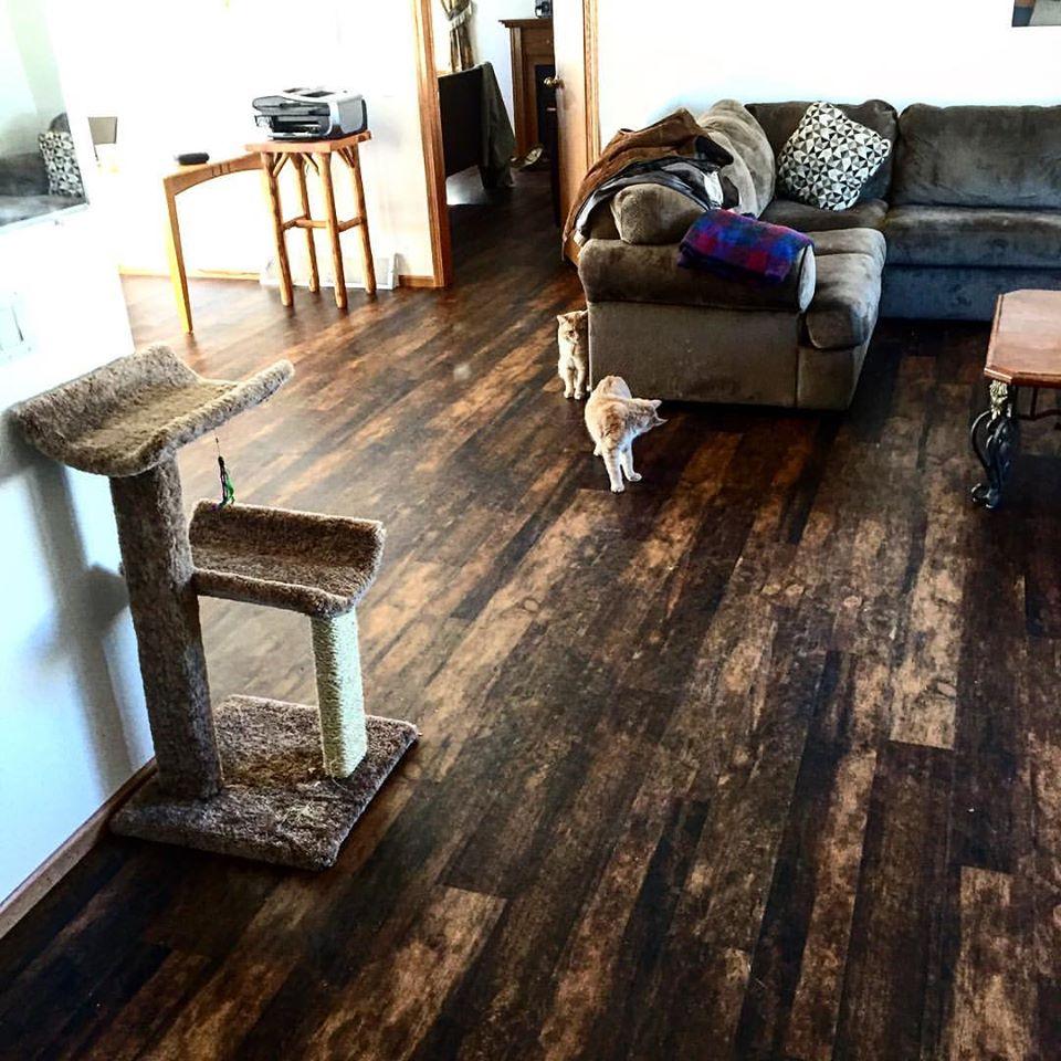 Barn wood floor, Bozeman