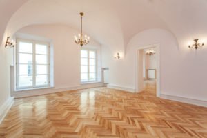 Parquet hardwood flooring in Bozeman MT
