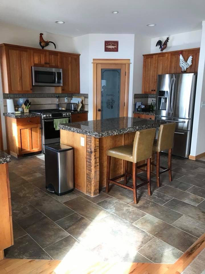 kitchen flooring in bozeman